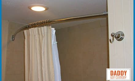 My Suicide Bend on Hotel Shower Curtains